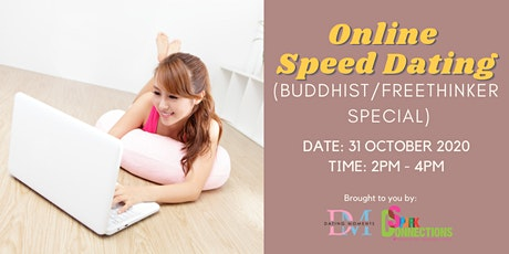 Online Speed Dating (Buddhist/Freethinker Special) (50% OFF) tickets