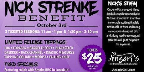 Nick Strenke Benefit tickets