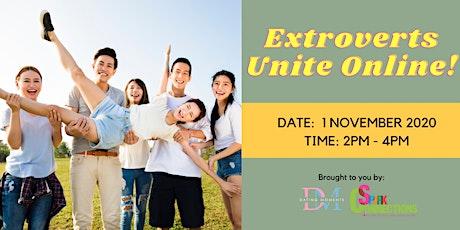 Extroverts Unite Online! (50% OFF) tickets