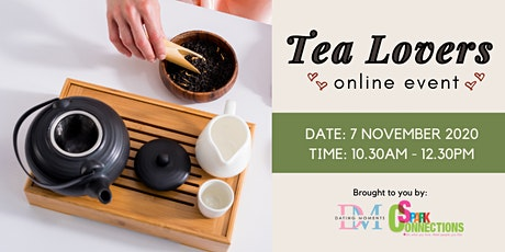 Tea Lovers (Online Event) (50% OFF) tickets