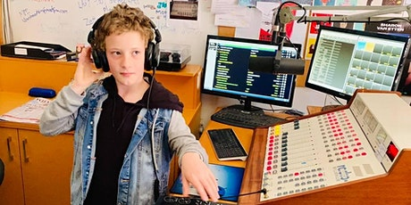 Young Broadcasters. Media Kids Beginners school holiday program. tickets