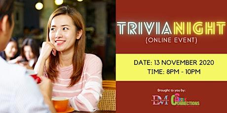 Trivia Night (Online Event) (50% OFF)