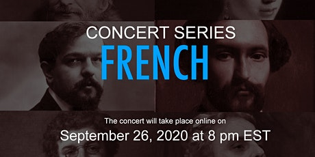 DICTIONBUDDY Concert- FRENCH Arias & Art Songs - September 26 at 8 pm EST tickets