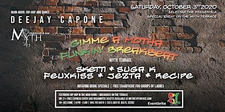 Gimme a Breakbeat! At Myth Nightclub   Saturday 10.03.20 tickets
