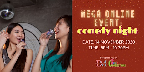 Mega Online Event: Comedy Night (50% OFF) tickets