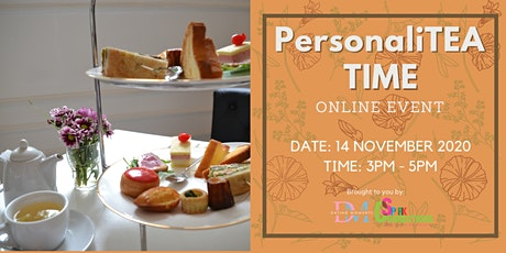 PersonaliTEA TIME (Online event) (50% OFF) tickets