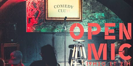 L'Open Mic de Lausanne 16 octobre billets