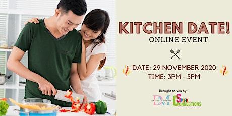 Kitchen Date! (Online Event) (50% OFF) tickets