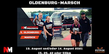 5. Oldenburg-Marsch Abendwanderung oder WarmUp für den 14.08.21 Tickets