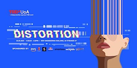 TEDxUoA 2020: Distortion tickets