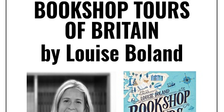 livestream: Bookshop Tours Of Britain by Louise Boland tickets