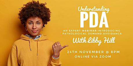 Understanding PDA webinar with Libby Hill tickets