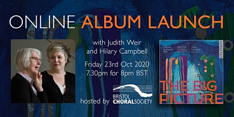 Bristol Choral Society's 'The Big Picture' CD Launch Event, CD included tickets