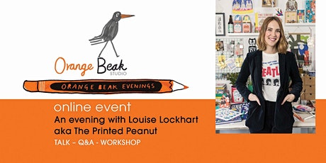 An online talk and Q&A with the prolific illustrator Louise Lockhart tickets