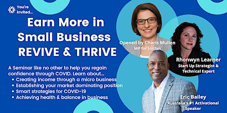 Small Business Revive & Thrive tickets