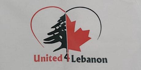 United 4 Lebanon tickets