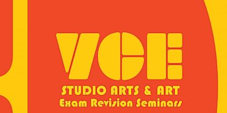 VCE Studio Arts and VCE Art Exam Revision Seminars tickets