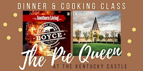 Pie Queen Dinner & Cooking Class @ The Kentucky Castle tickets