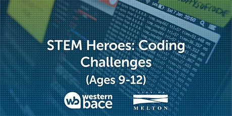 STEM HEROES : Coding Challenges  (Ages 9-12) tickets