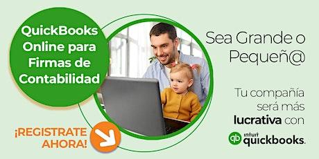 QuickBooks Online para Contadores y Firmas de Contabilidad tickets