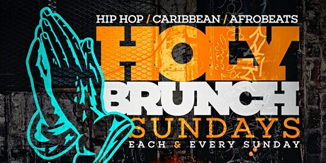 Holy Brunch Sunday NYC Rooftop Dining   Caribbean & Hip Hop Vibes   tricess tickets