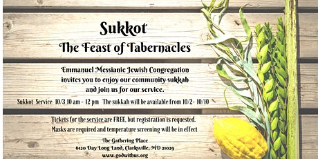 Sukkot Service tickets