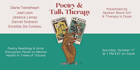 Poetry & Talk Therapy tickets