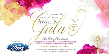 4th Annual Women on the Rise Awards Gala Powered by FORD - Virtual tickets
