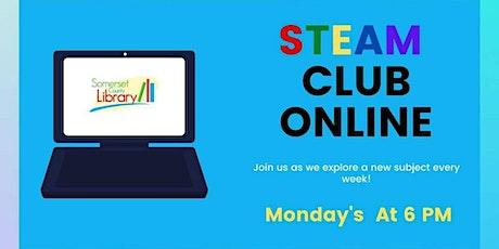 STEAM Club Online tickets