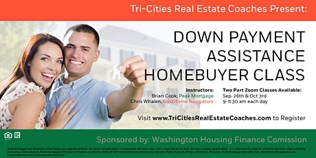 Down Payment Assistance Home Buyer Class tickets