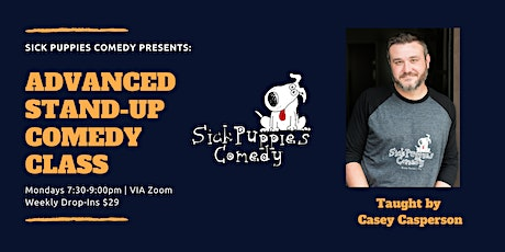 Advanced Stand Up Comedy Class | Virtual tickets