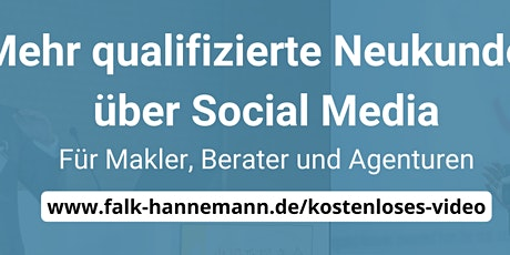 Mehr Neukunden für Makler, Berater und Agenturen durch LinkedIn Tickets