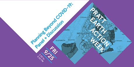 Planning Beyond COVID-19: panel + discussion tickets