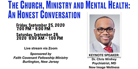 The Church Ministry and Mental Health: An Honest Conversation tickets