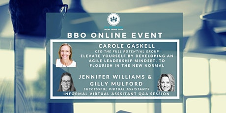 BBO PA Network ONLINE - Carole Gaskell,  Agile Leadership Mindset / VA Q&A tickets