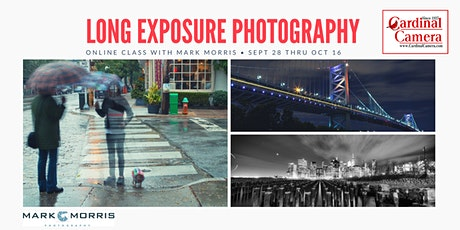 Long Exposure Photography Online Class with Mark Morris tickets