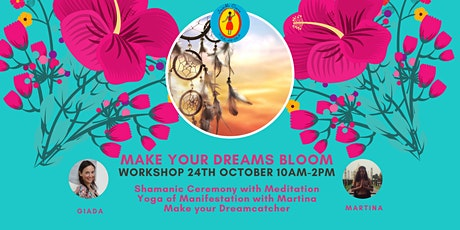 Workshop: Make your Dreams Bloom -online and in the studio tickets