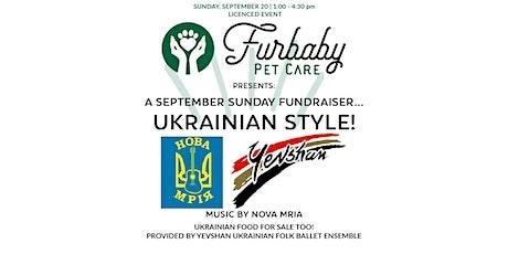 Furbaby Fundraiser - Ukrainian style! tickets