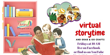 Virtual Storytime tickets