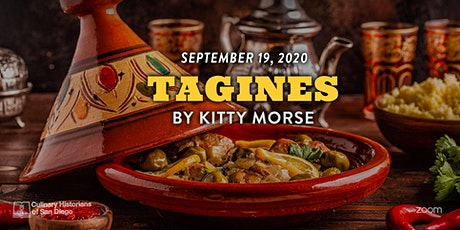 """Online Culinary History Talk """"Tagines"""" with Kitty Morse tickets"""