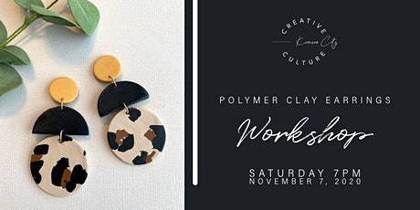 Workshop  | Polymer Clay Earrings tickets