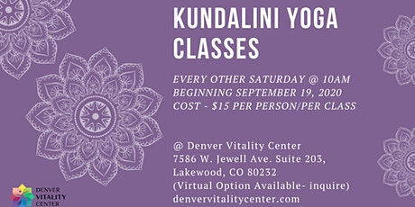 Kundalini Yoga Classes tickets