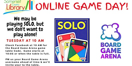 SOLO Online Game Day tickets