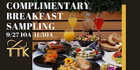 Complimentary Breakfast Sampling at Torsap Thai Kitchen tickets