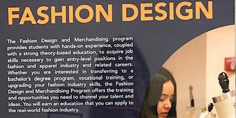 Virtual Tour for Fashion Design and Merchandise Program Fullerton College tickets