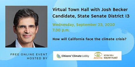 Town Hall with Josh Becker, Candidate for CA State Senate, 13th District tickets