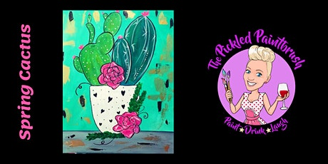 Painting Class - Cactus - October 11, 2020 tickets