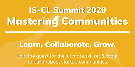 IS-CL Summit 2020 - Mastering Communities tickets
