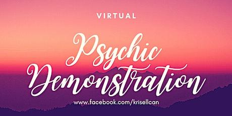 Virtual Psychic Demonstration