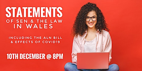 Statements of SEN and ALN Law in WALES tickets
